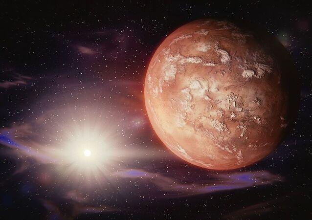 la planète rouge