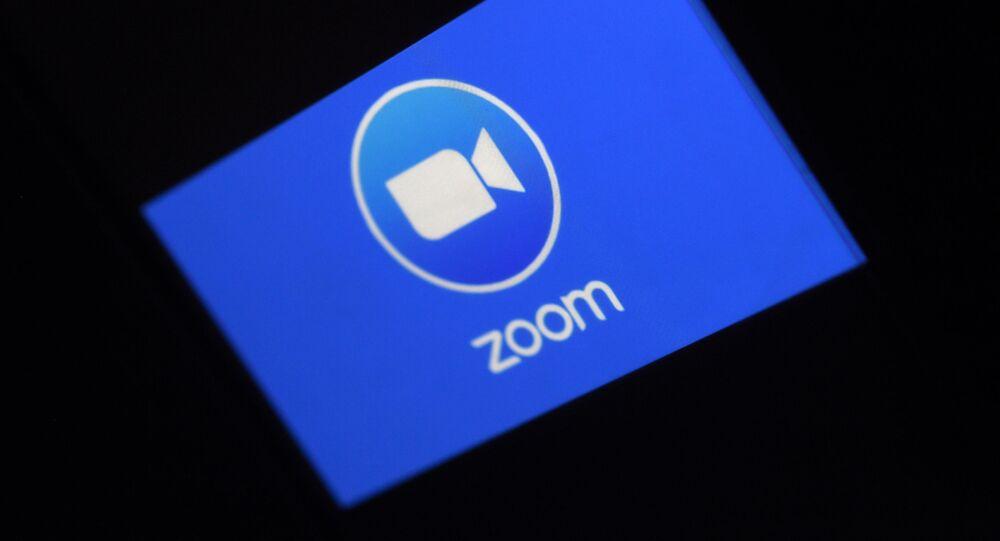 Logo de l'application Zoom