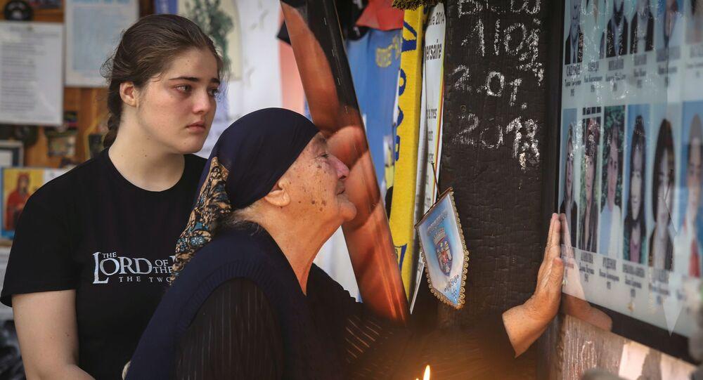 Une veillée de trois jours a commencé à Beslan, en Ossétie du Nord, en mémoire du 16e anniversaire de l'attaque terroriste de 2004
