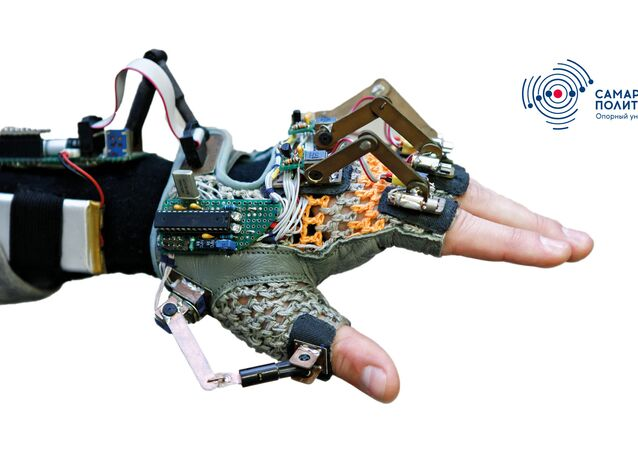 Un gant auditif inventé à Samara, en Russie