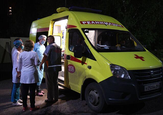 Hospitalisation de Navalny à Omsk