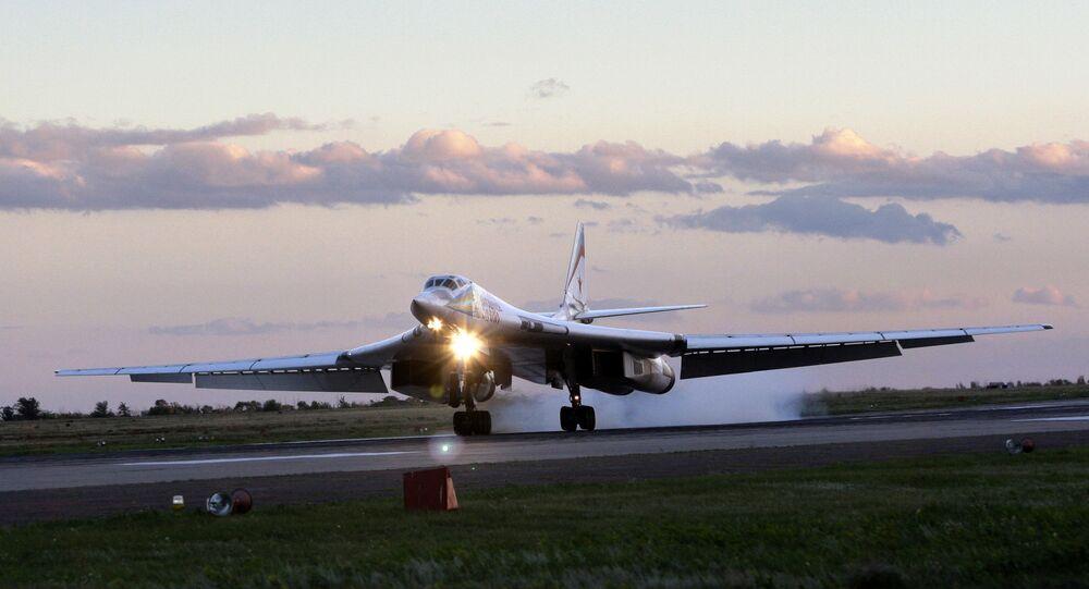 Un bombardier stratégique Tu-160 (archive photo)