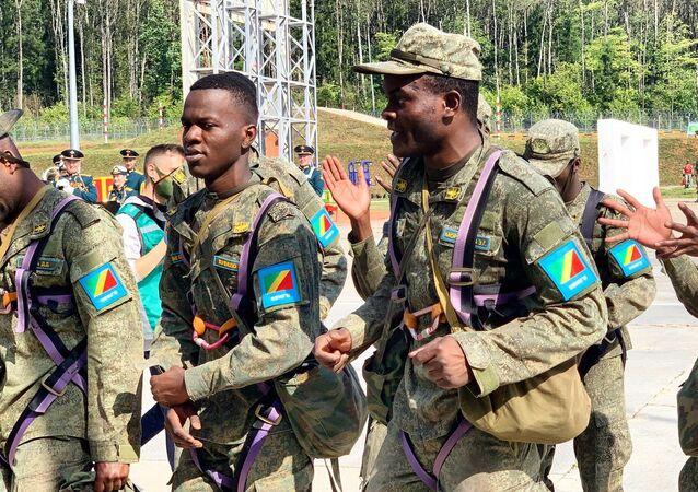 Les étudiants congolais aux Army Games 2020, Russie