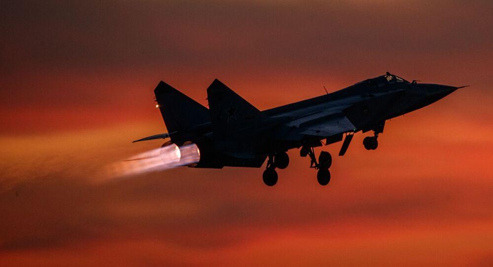 Un MiG-31, archives