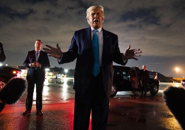 Donald Trump à Latrobe, le 3 septembre 2020