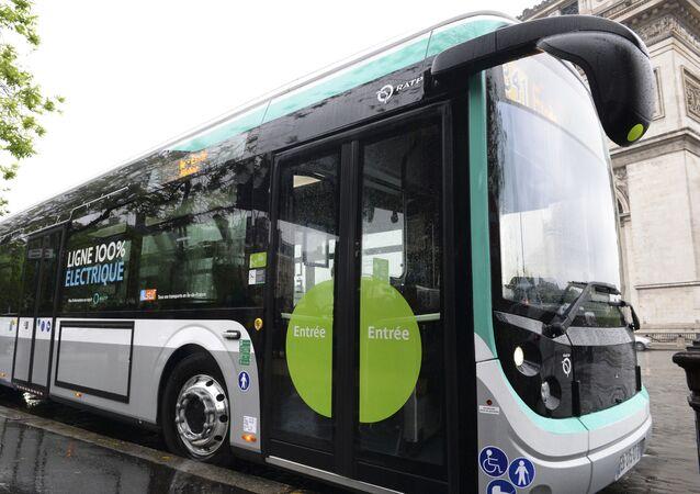 un bus de la RATP