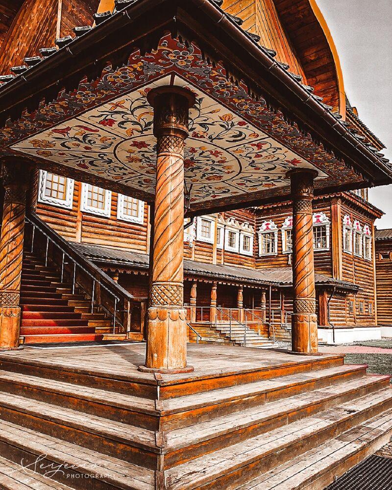 Le palais en bois du tsar Alexeï Ier Mikhaïlovitch