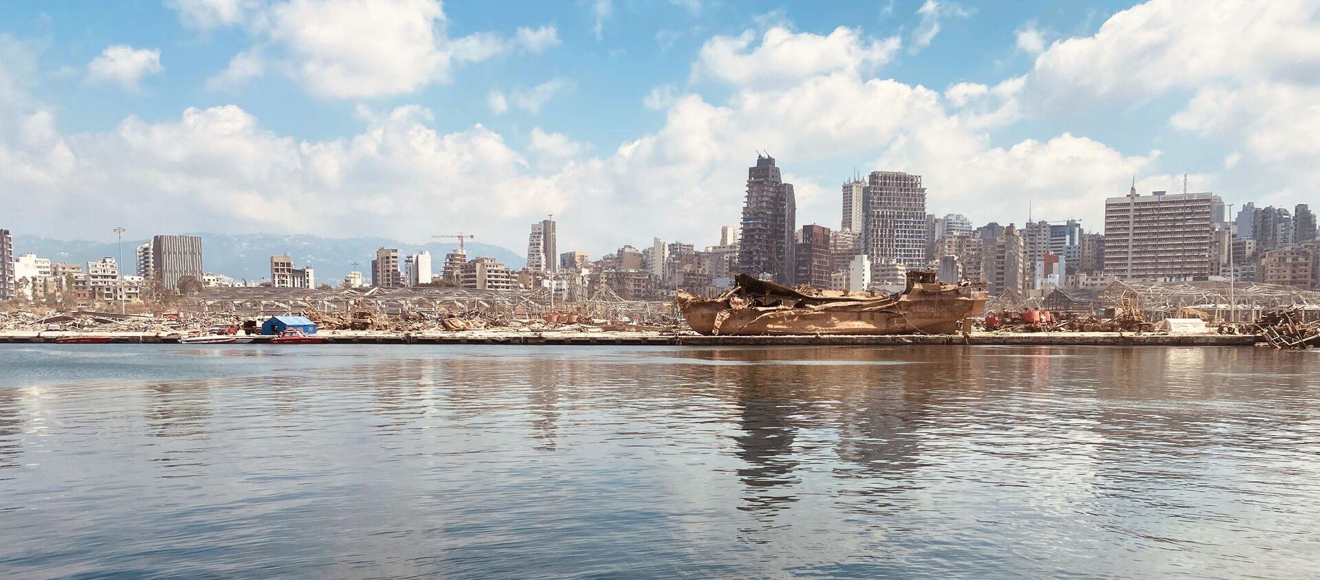 Beyrouth après l'explosion - Sputnik France, 1920, 03.08.2021