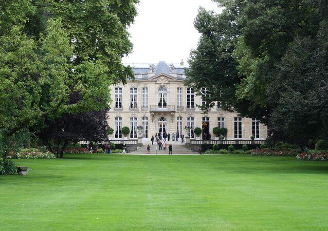 Hôtel de Matgnon côté jardin