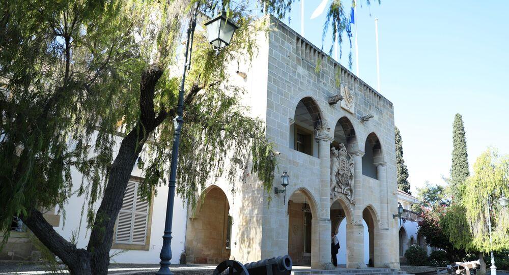Le palais présidentiel à Nicosie