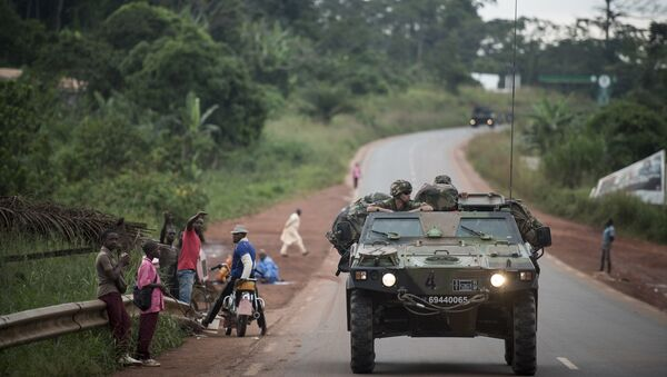 Une patrouille sur les routes du Cameroun - Sputnik France