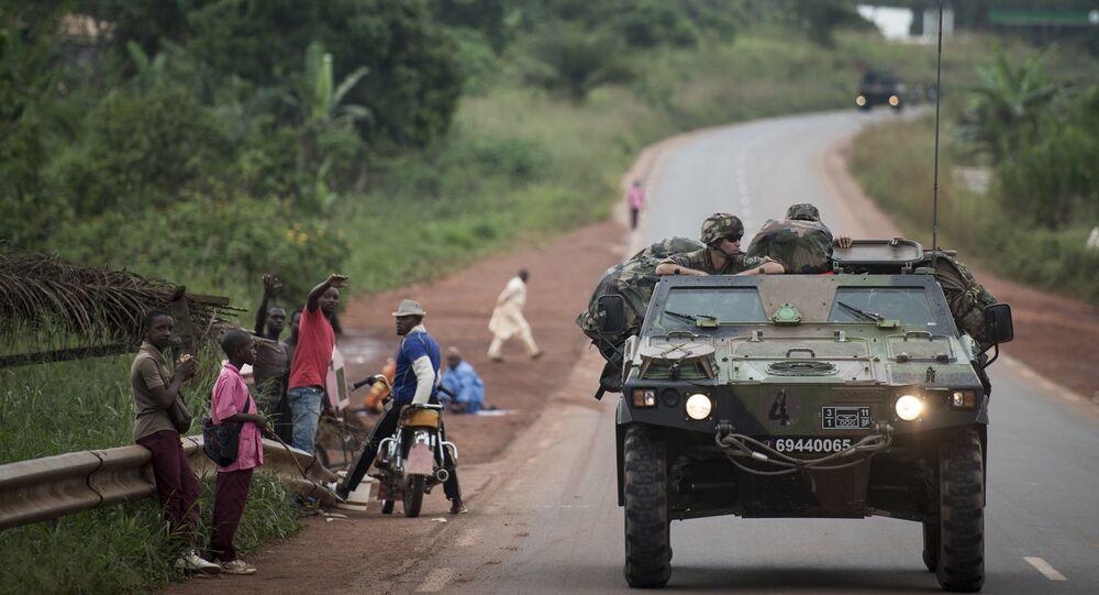 Une patrouille sur les routes du Cameroun