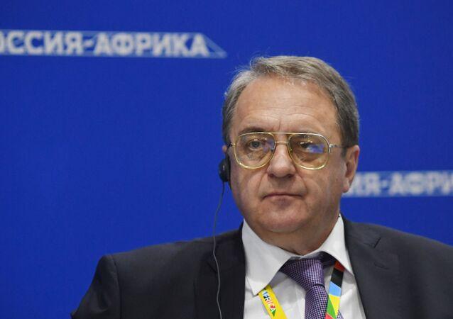 Mikhaïl Bogdanov, vice-ministre russe des Affaires étrangères