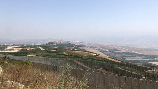 La frontière entre Israël et le Liban, image d'illustration  - Sputnik France