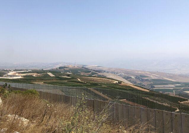 La frontière entre Israël et le Liban, image d'illustration