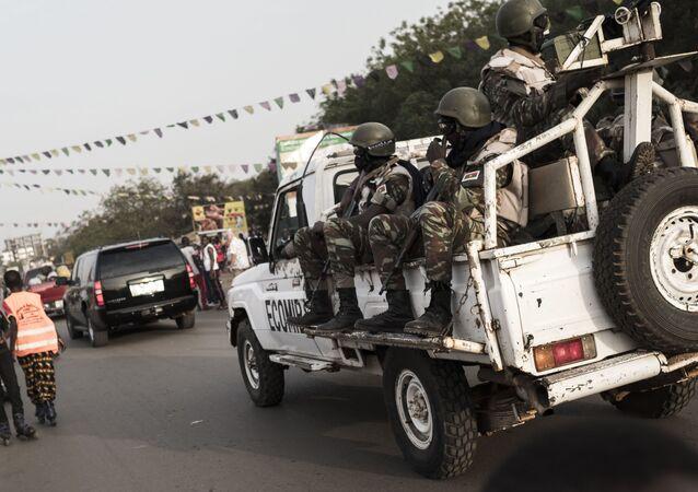 Les forces de la Cedeao en Guinée-Bissau