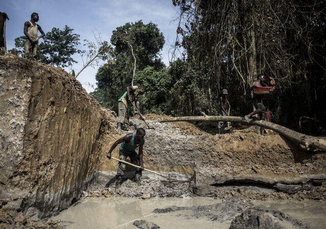 Mine d'or en RDC