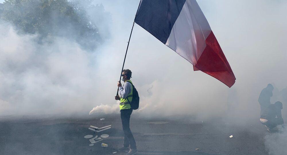 manifestation des Gilets jaunes le 12 septembre à Paris