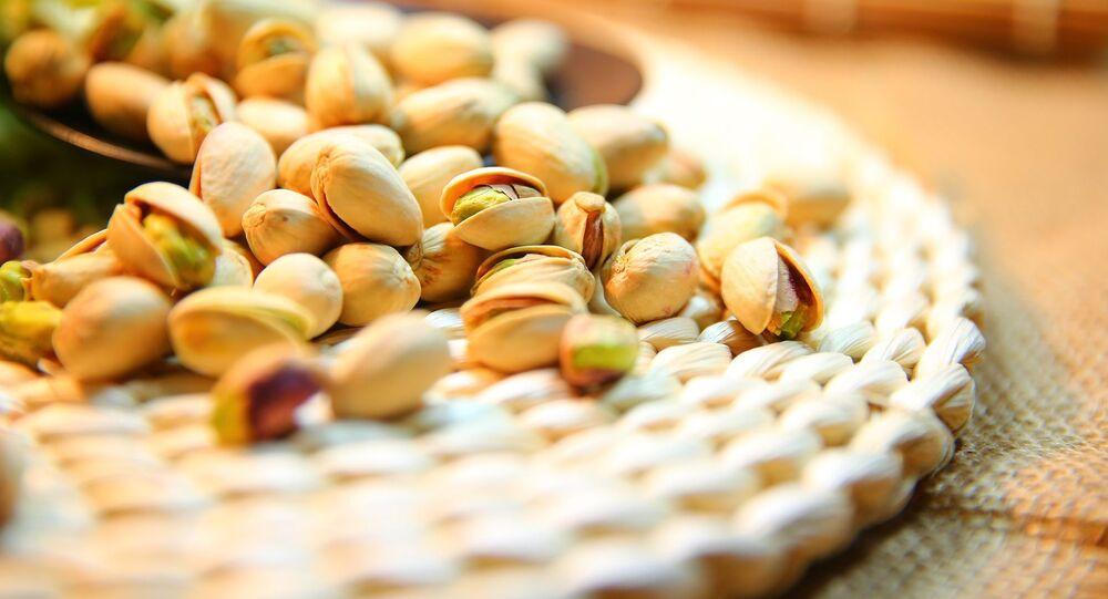 Des pistaches