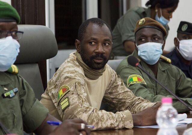 Assimi Goïta, le président de la junte malienne