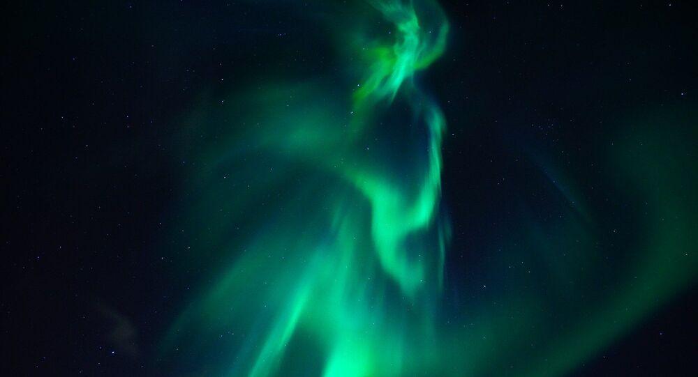 Aurores polaires (image d'illustraiton)