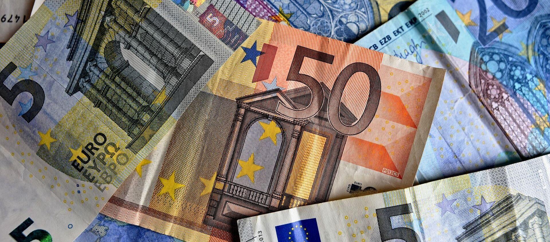 Des euros - Sputnik France, 1920, 22.04.2021