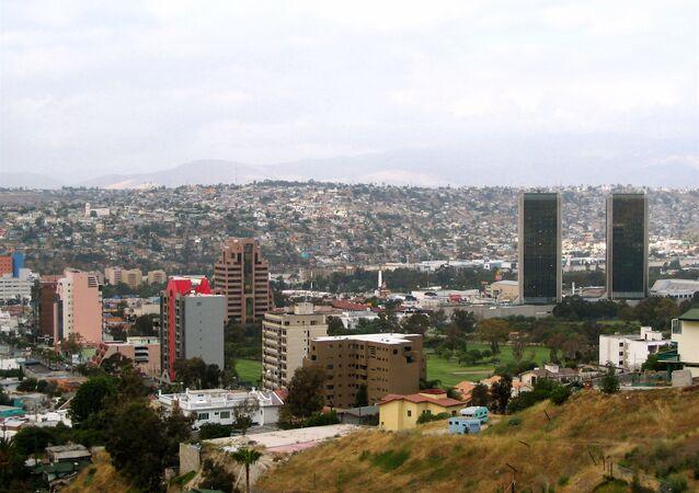 La ville de Tijuana, Mexique