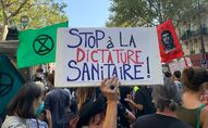 Manifestation interprofessionnelle à l'appel des syndicats à Paris, 17 septembre 2020