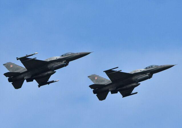 Des F-16 (image d'illustration)