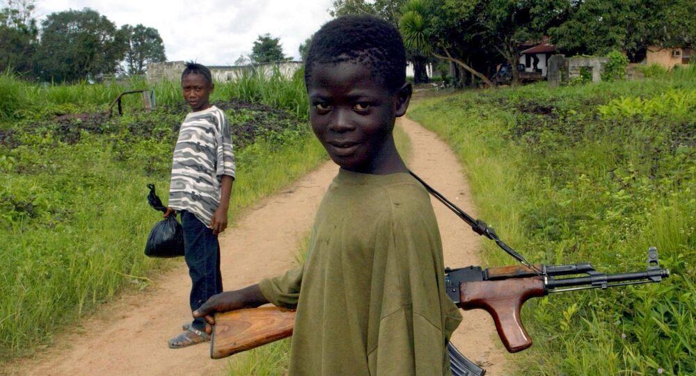 Un enfant-soldat