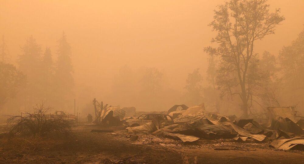 L'Etat de l'Oregon après l'incendie en septembre 2020