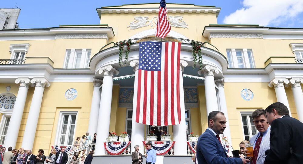 la résidence de l'ambassadeur des États-Unis en Russie