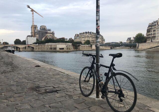 Paris, vue sur Notre-Dame