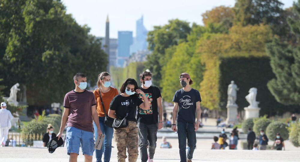 Le Jardin des Tuileries, le 7 septembre