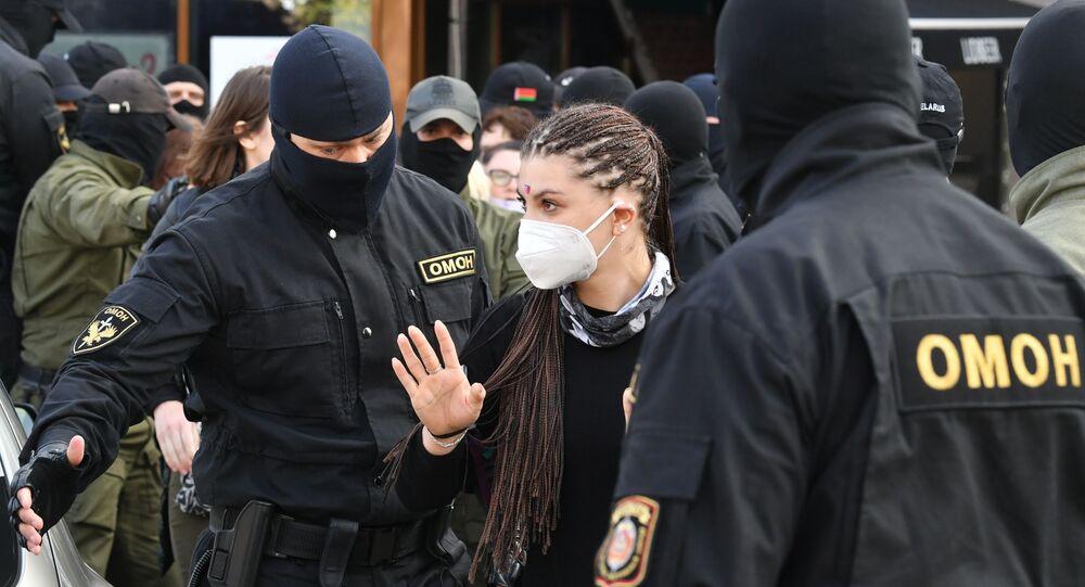 Marche de femmes à Minsk