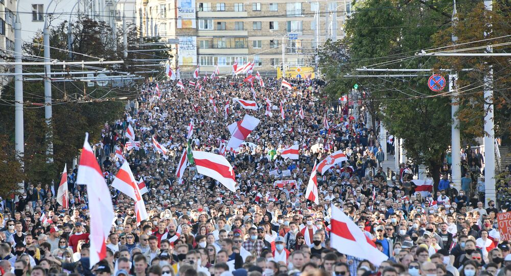 Contestation à Minsk