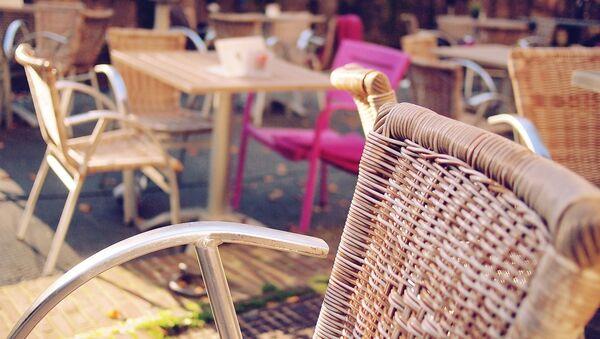 Terrasse d'un café - Sputnik France