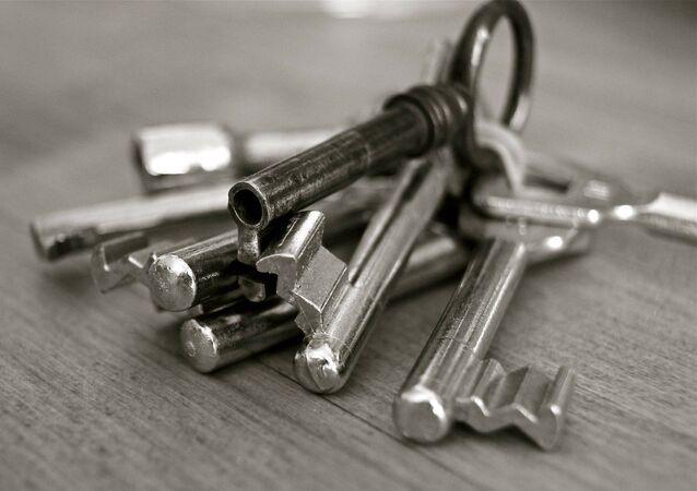 Un trousseau de clés (image d'illustration)