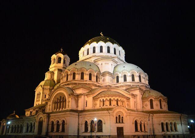 La cathédrale Saint-Alexandre-Nevski à Sofia