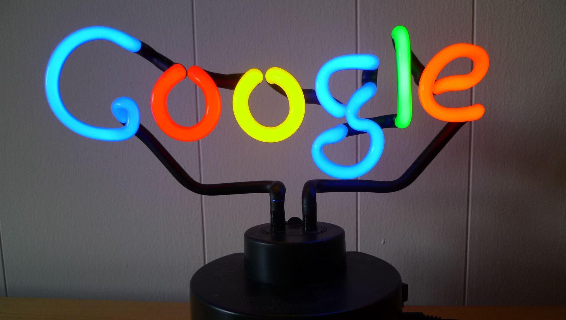 Google Neon - Sputnik France, 1920, 14.09.2021