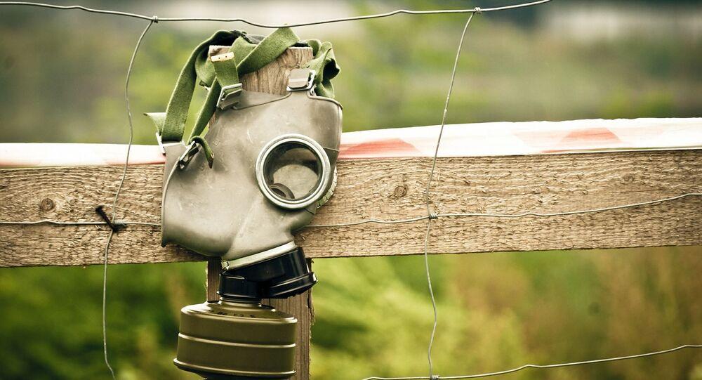 Un masque à gaz (image d'illustration)