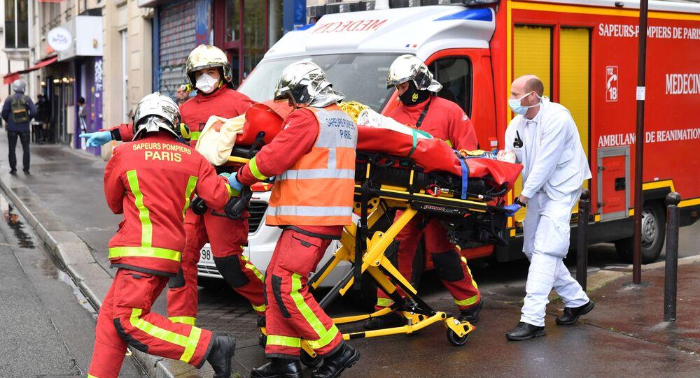 Conséquences de l'attaque à l'arme blanche à Paris ce 25 septembre