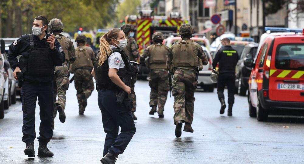 Situation à Paris suite à l'attaque à l'arme blanche survenue le 25 septembre