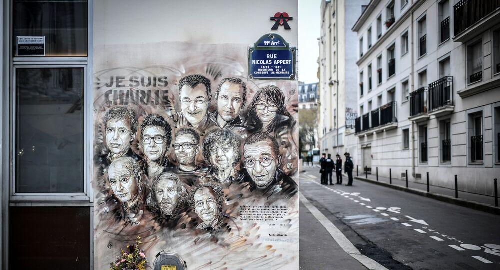 Hommage aux membres de Charlie Hebdo