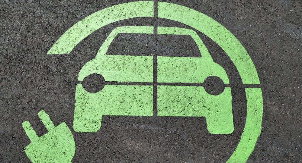 Image d'une voiture électrique