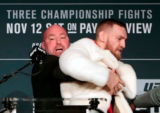 Dana White et Conor McGregor