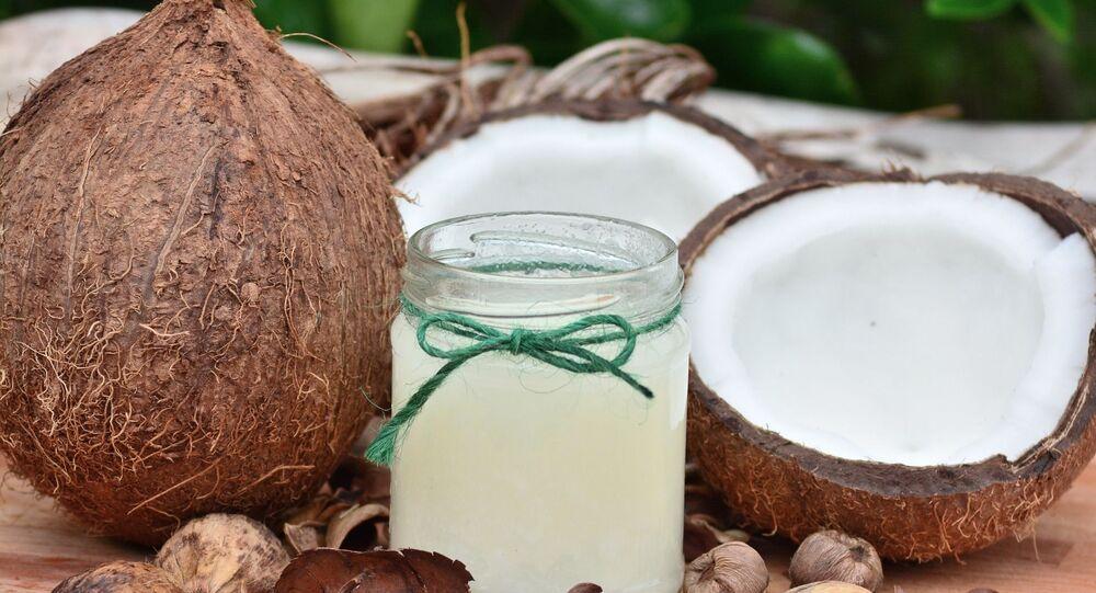 Des noix de coco (image d'illustration)