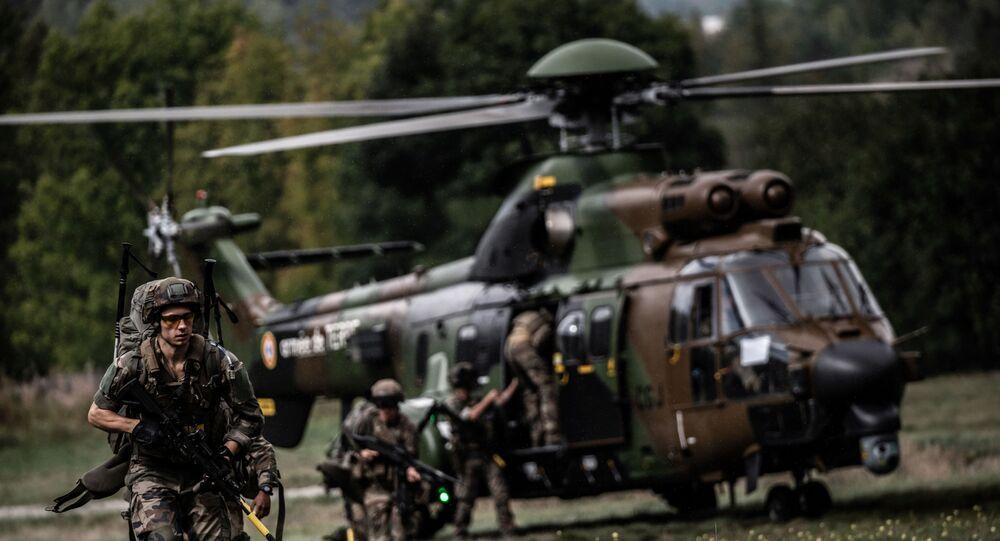 Opération Baccarat 2020 dans les Alpes