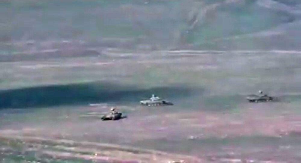 Situation dans le Haut-Karabagh, image d'illustration