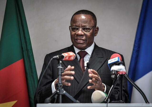 Muarice Kamto, leader du parti d'opposition camerounais Tenaissance pour le Cameroun (MRC)